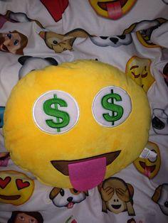 My emoji pillow