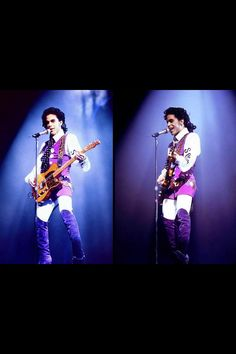 Classic Prince | 1988 Lovesexy in rare purple themed Lovesexy 'Spooky Electric' outfit!