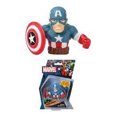 Monogram Finger Fighter – Captain America - Marvel, Finger Fighter