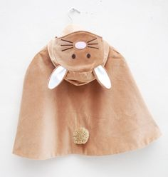 Bunny Rabbit cape costume handmade in toffee | by wildthingsdresses