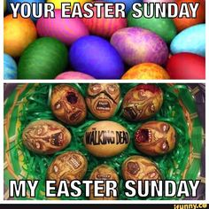 Easter Sunday Walking Dead Show, Walking Dead Funny, Fear The Walking Dead, Rip Glenn, Dead Inside, Stuff And Thangs, Show Photos, Best Tv Shows, Holiday Fun