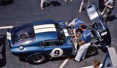 Le Mans 24 Hours 1965 Shelby Cobra Daytona Coupe CSX2286  Dan Gurney /Jerry Grant  D.N.F.