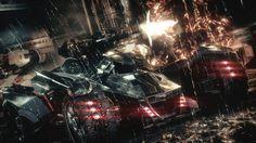 Download Batman New Batmobile Batman Arkham Knight Game 1920x1080