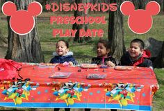 First Time Mom and Losing It: Our #DisneyKids Preschool Play Date