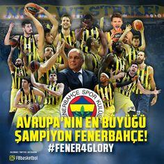 Fenerbahçe EUROLEAGUE  şampiyonu oldu. Son yıllardaki Türk basketbolu gerçekten de üst seviyelere çıktı Fenerbahçe'nin şampiyonluğu da bunun tacı oldu. Fenerbahçe her defasında şampiyonluğa biraz daha yaklaştı ve sonunda istikrarlı bir şekilde kupaya uzandı. Bu gece herkes Fenerbahçe'nin şampiyon olacağına inanıyordu ülke olarak buna ihtiyacımız vardı. Teşekkürler Fenerbahçe...