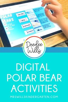Digital polar bear activities for your primary classroom! These digital activities are preloaded to Seesaw and Google Classroom. A fun learning video and activities will make teaching about this… More