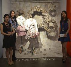 Silver Award Winner - A Fashion Story.  Redefining Design 2015. Visual Merchandising Arts, School of Fashion at Seneca College.