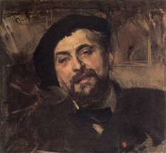 Portrait of the Artist Ernest Ange Duez, 1896 - Giovanni Boldini