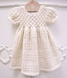17 Best ideas about Knit Baby Dress