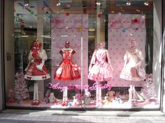 Angelic Pretty window display