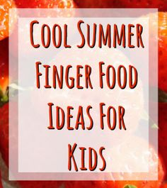If you're organizing a party during the hottest months of the year, or just want easy and quick snacks during those sweaty days, this list is for you. Keep kids happy, healthy and cool. Summer Finger Foods, Cold Finger Foods, Finger Foods For Kids, Fruit Kebabs, Fruit Salad, Sushi For Kids, Kebab Sticks, Fish Crackers, Cold Fingers