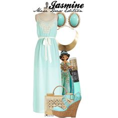 Jasmine by amarie104 on Polyvore featuring Charlotte Russe, Dolce&Gabbana and GUESS