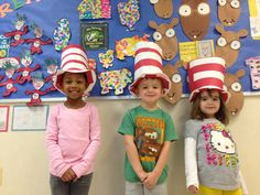 Celebrating Read Across America Month at the YW Early Learning Center.