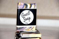 Guest size soaps are great for different situations including travel, guest bathrooms, hotels/bed and breakfasts and are great for allowing your customers to purchase mini sizes of different soaps …