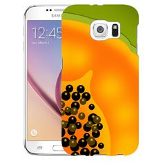 Samsung Galaxy S6 Cute Papaya Slice Slim Case