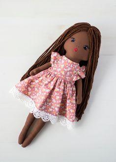 Ballerina Doll, Baby Dolls, Girl Dolls, Fabric Dolls, Doll Clothes, First Baby, Pink Birthday, Etsy Shop, Soft Dolls