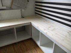 What We Needed Was A Flexible Corner Seat For The Kitchen. Challenge: The  Radiator Was Not To Be Covered Completely. This Is What You Need: IKEA: 2 X  Kallax ...