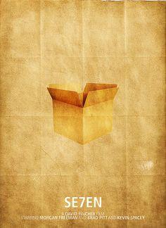 Seven (Se7en) - Minimalist Movie Poster by darrencornwell, via Flickr