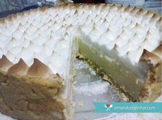 Torta de limão com suspiro: passo à passo