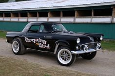 Caddy-Powered 1955 T-bird Gasser - Hot Rod Network