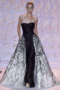 Zuhair Murad Fall 2014 Haute Couture Couture 2015, Robe, Zuhair Murad,  Gravures De 09cf490a046