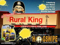 Hogswipe Products at All Florida Rural Kings
