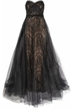 Gorgeous black formal gown