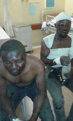 Blaquey blog : Two Nigerians nearly beaten to death in South Afri...