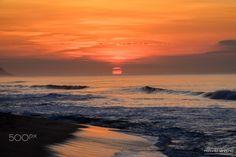 Stunning sunrise. - Stunning Sunrise over the Pacific, San Jose del Cabo, Baja California, Mx.