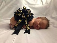 Who Dat....Too Cute-Baby Saints Fan