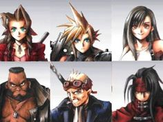 Which Final Fantasy 7 Character Are You? via playbuzz