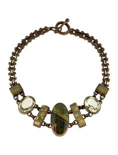 $295.00    Stephen Dweck Multistone Collar Necklace - Necklaces - STD22194   The RealReal