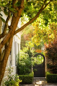 Door for A Walled Garden | Content in a Cottage