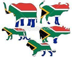Image result for sa flag art