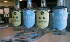 Watershed Distillery's Gin and Vodka