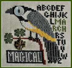 Magical March (Bird's Eye) Cross Stitch Pattern