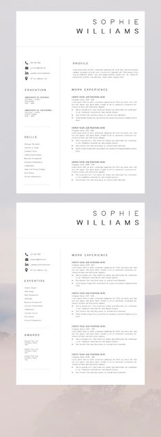 Professional resume cover letter professional cv layou basic cv template word work resume free linkedin cover photos for professionals and students she s social savvy Basic Cv Template, Creative Cv Template, Modern Resume Template, Cv Templates Word, Word Template Design, Resume Template Free, Layout Template, Templates Free, Presentation Templates
