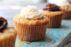 Vanilla Cupcakes with Coconut Flour  (several frosting recipes too)