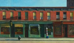 Sunday morning by Edward Hopper One of 17 paintings that inspired stories!New anthology! very cool!