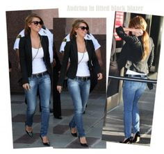 Celebrity Style Blazer Combination: Celebrity Style Blazer Ideas ~ Formal Wear Inspiration
