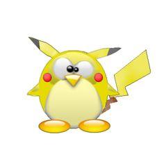 Tux Pikachu