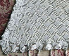 Δ Antique French hand crocheted pillow case cover sham crochet cushion cover white hand crocheted cushion pillowcase, crocheted bed linens by... Best Service #cushioncover #pillowcover #cushionpillow http://etsy.me/2oF6NVl