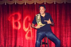 One of the photos from our interview with Brad Garrett on why he supports Roma Boots, giving back and wants to come on a boot drop! #BradGarrett #EverybodyLovesRaymond #RobertBarone