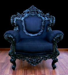 Splendid Baroque Italian Armchair – masculine colour and elaborate ornamentation. The post Baroque Italian Armchair – masculine colour and elaborate ornamentation….