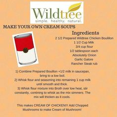 Wildtree - 2 1/2 what of the prepared chicken bouillon???  Tablespoons, cups, teaspoons??? To Order http://mywildtree.com/kimzwt Facebook https://www.facebook.com/Wildtree-Cooking-with-Kim-Ind-Rep-1247735381920809/