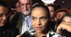 'Não se muda presidente porque se discorda dele', diz Marina Silva