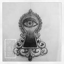 keyhole tattoo - Google Search
