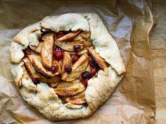 Rustic Apple-Cranberry Pie Recipe | Serious Eats