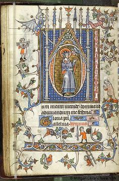 Book of Hours, MS M.754 fol. 15v - Images from Medieval and Renaissance Manuscripts - The Morgan Library & Museum