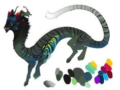Tropical Tiger Dragon DC by Screeches on deviantART